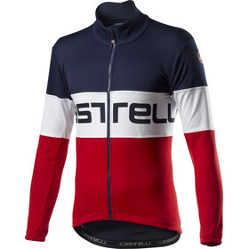 Castelli Prologo Jacket Men savile blue/white red